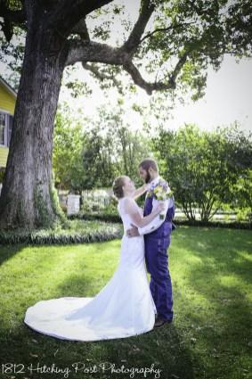Navy Sunflower Wedding-20