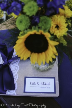 Navy Sunflower Wedding-43