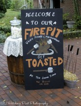 Get toasted sign