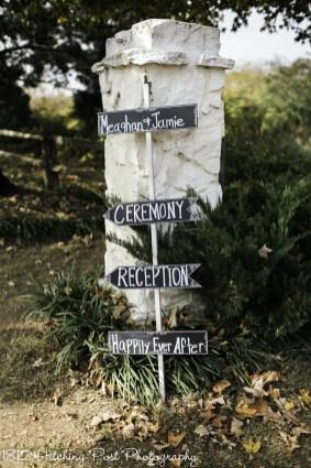 Bride's signs