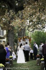 Fall ceremony under the oaks