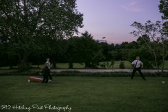 Lawn games at wedding