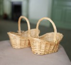 Pair of tiny baskets