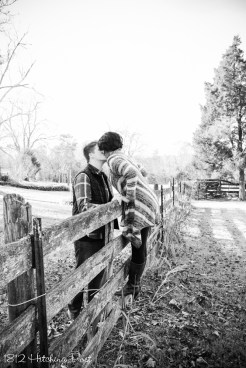 1812 Hitching Post Engagement Photo (3 of 14)