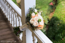 September Wedding 1812 Hitching Post-11