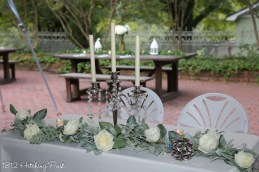 September Wedding 1812 Hitching Post-36
