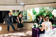 """Groom and mother """"fun"""" dance"""