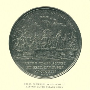 Back, Congressional Gold Medal for Capt. Perry