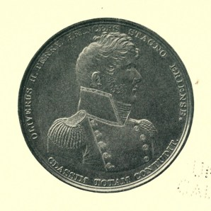 Front, Congressional Gold Medal for Capt. Perry