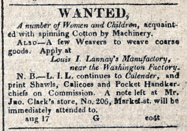 American Commercial and Daily Advertiser, August 17, 1814. Maryland State Archives, SC3392.