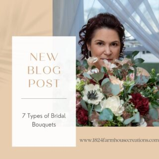 Check out our new blog post, 7 Types of Bridal Bouquets. Link in bio!  #weddingpackages #syracuseweddingflorist #rochesterweddingflorist #buffaloweddingflorist #centralnyflorist #1824_farmhouse_creations #solawoodflowers #2021wedding #covidwedding #syracuseweddingflowers #syracusesolawoodflowers #buffaloweddingflowers #rochesterestweddingflowers #centralnyweddingflowers #centralnyweddingflorist #fingerlankesweddingflowers #fingerlakesweddings #fingerlakesweddingflorist #turningstoneweddingflowers #dibblesweddingflowers #arlingtonarborweddingflowers #lakeshore1860 #1824fhc