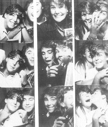 Elizabeth's yearbook page, 1986