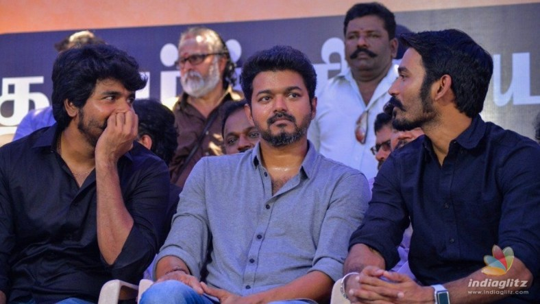 What is Dhanush and Sivakarthikeyan's part in Thalapathy Vijay's 'Beast'?