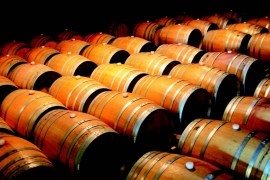 2009-Autumn-Oregon-Travel-Road-Trip-Willamette-Valley-wine-barrels