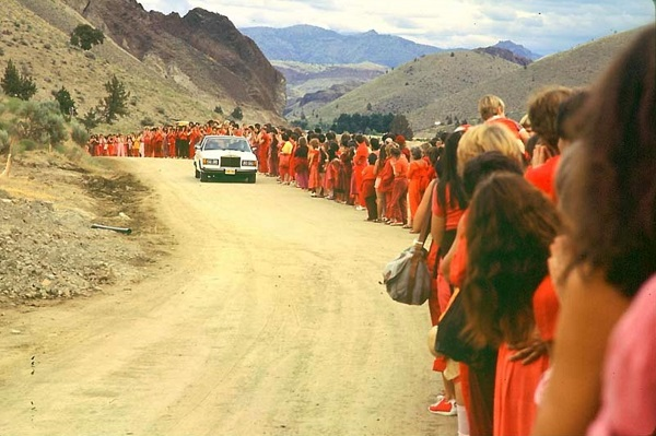oregon live, rajneesh, oregon history, the dalles
