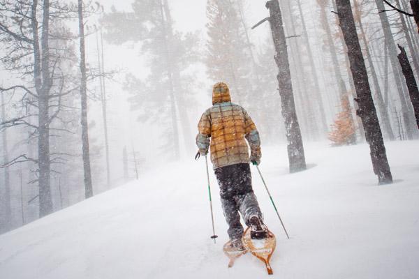 oregon snowshoe trips