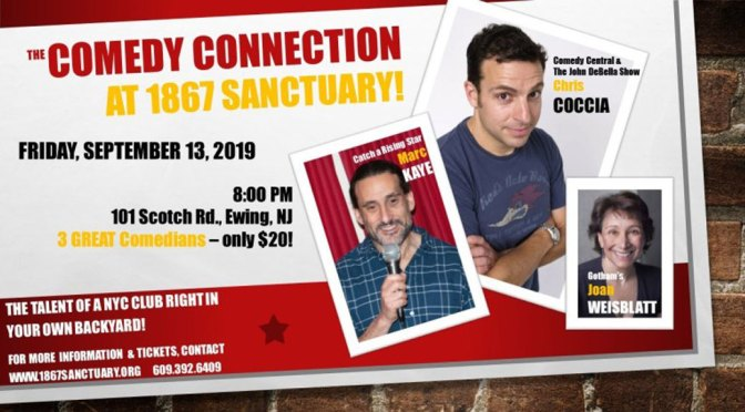 <b>Marc Kaye's Comedy Connection</b><br>Friday, September 13 — 8:00 PM