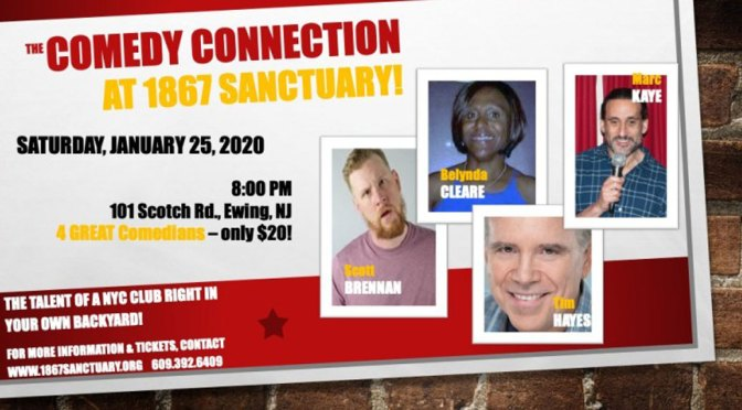 <b>Marc Kaye's Comedy Connection</b><br>Saturday, January 25 — 8:00 PM