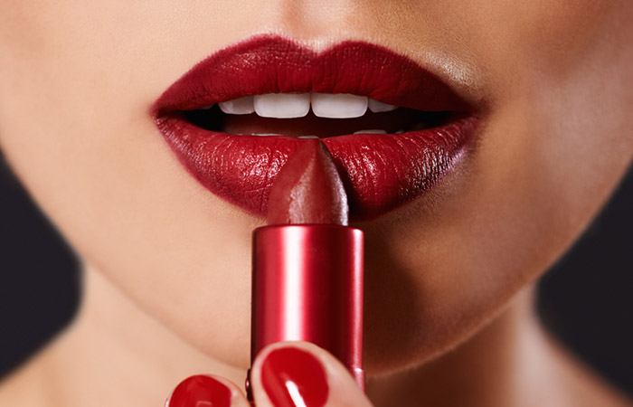 Image result for how to apply red lipstick perfectly