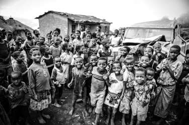 Village children in Malawi whose future is directly impacted by the clinic.