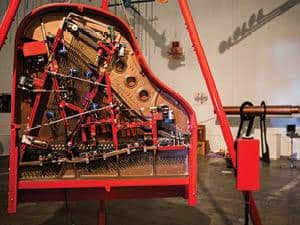 The Trimpin Sound Space gallery features various sound sculptures.