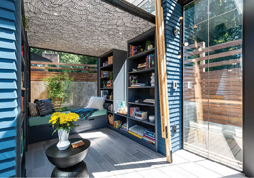 backyard reading room