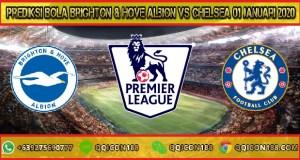 Prediksi Bola Brighton & Hove Albion vs Chelsea 01 Januari 2020