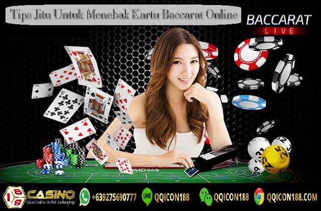 Tips Jitu Untuk Menebak Kartu Baccarat Online