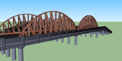 6inch 15mm bridge Truss concept 3