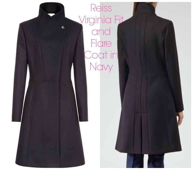 Reiss Virginia fit & flare coat