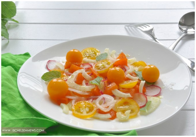 18 chelsea mews - persimmon fennel salad