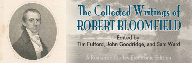 The Collected Writings of Robert Bloomfield