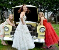 Vintage Prom photo shoot