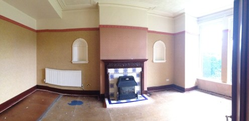 Nasty old fire and mouldings