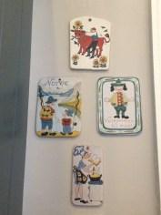 Norwegian plaques