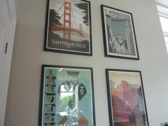 Vintage American prints