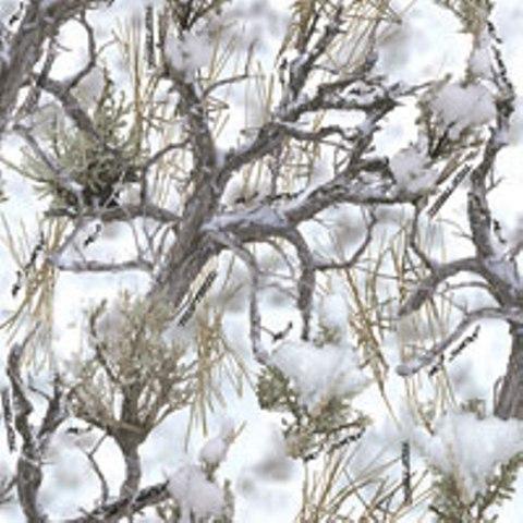 冬季灌木丛迷彩