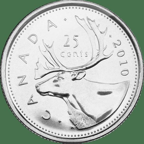 Canadian Quarter Reverse 2010