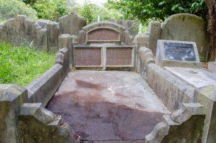 William Fisher's grave