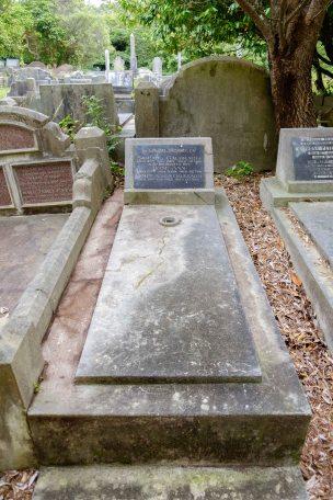 Samuel Galbraith's grave