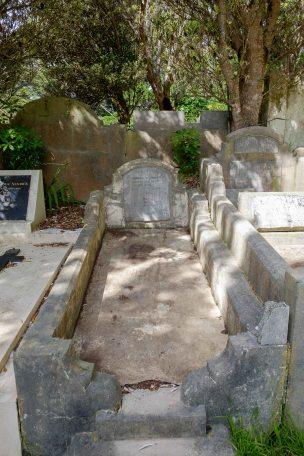 Thomas Bailey's grave