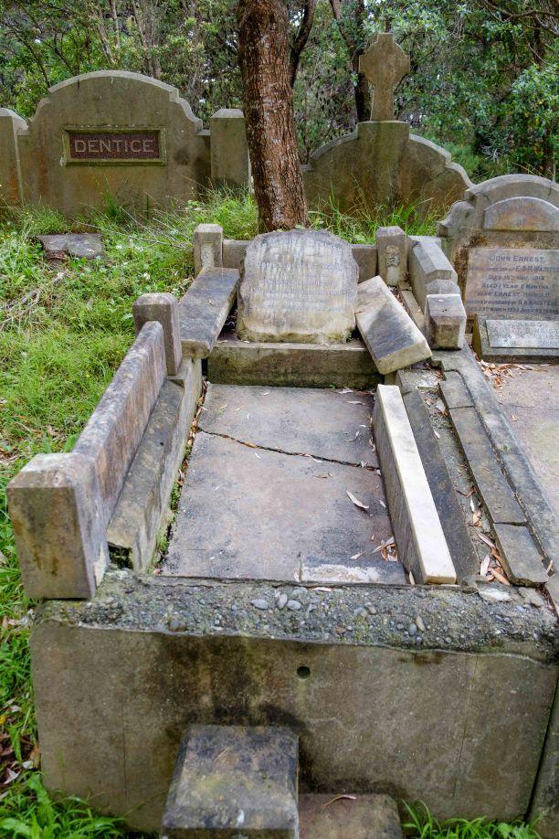 James Ward's grave