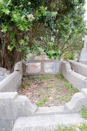 John Nicholls' grave