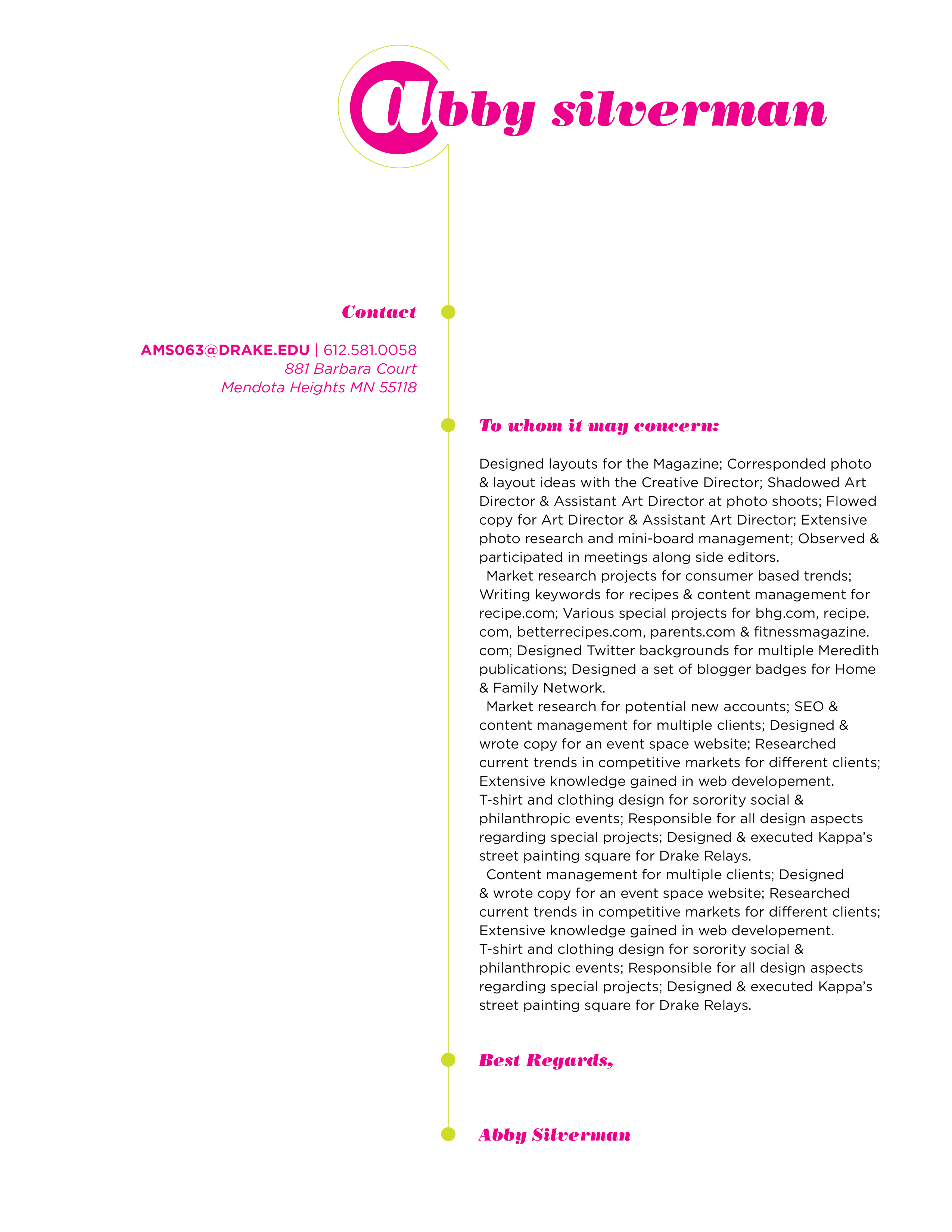 graphic design cover letter examples graphic design cover