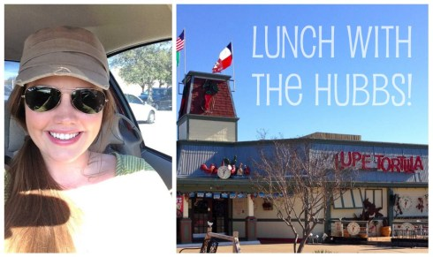 When Louis was finally done being a stud, I picked him up and we lunched at the new Lupe Tortilla on Texas Avenue.