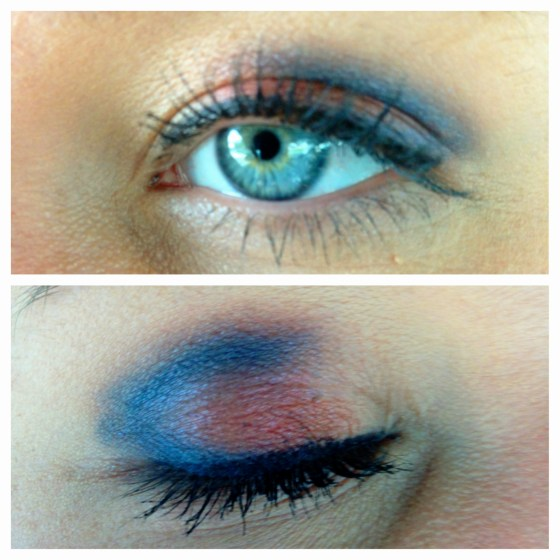Red, White, & Blue Eyeshadow!