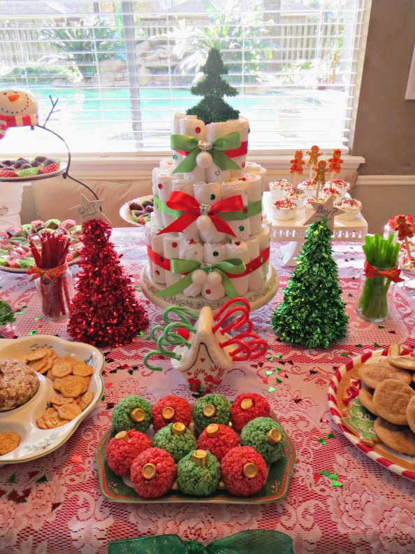 11 Christmas Gender Reveal Desserts