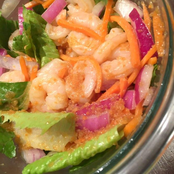 1 ginger dressing salad