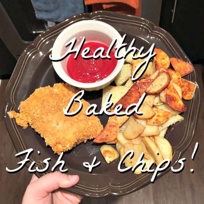 Baked Fish and Chips 0