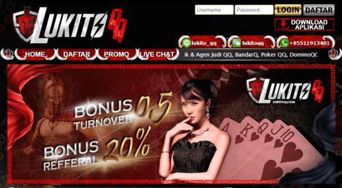 LukitoQQ Situs Judi Online Paling Aman